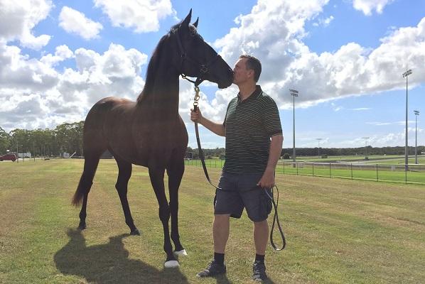 Yankee Rose with David Vandyke at the Sunshine Coast