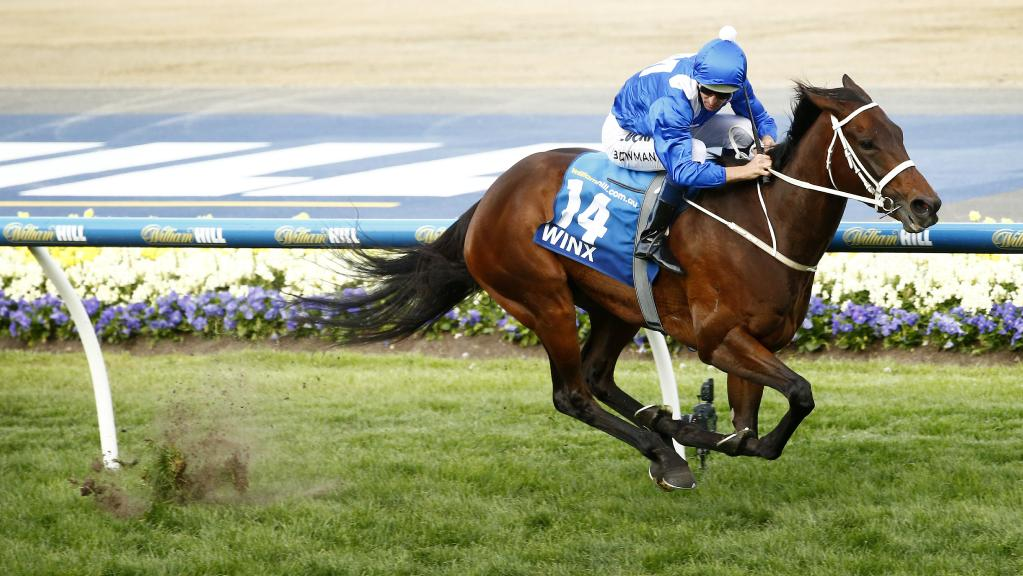 WINXChampion mare streets her rivals in the 2015 Cox Plate
